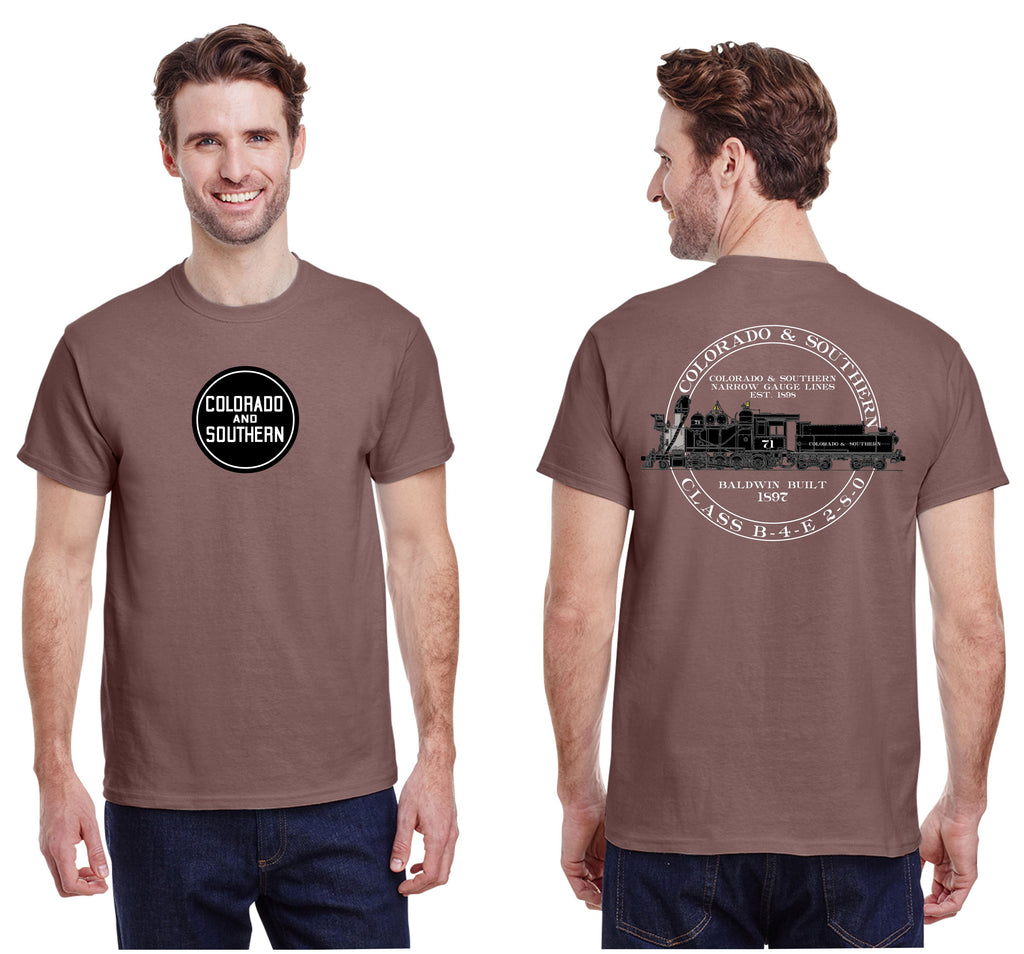 Colorado & Southern B-4-E Locomotive Shirt
