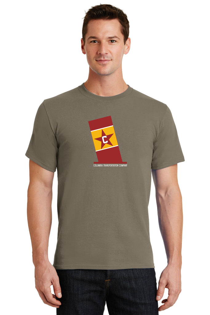 Columbia Transportation Stack Logo Shirt
