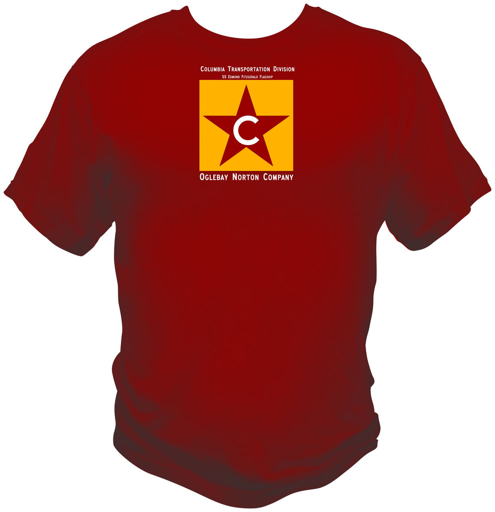 Columbia Transportation Division Logo Shirt