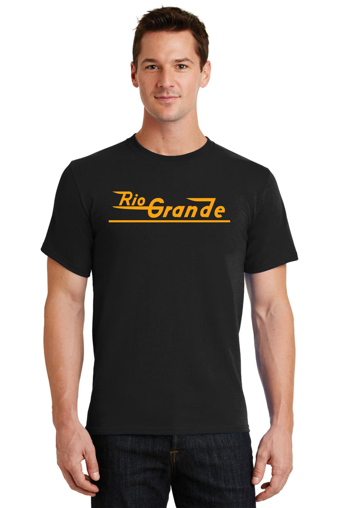 Denver and Rio Grande Western Railroad Speed Lettering Logo Shirt