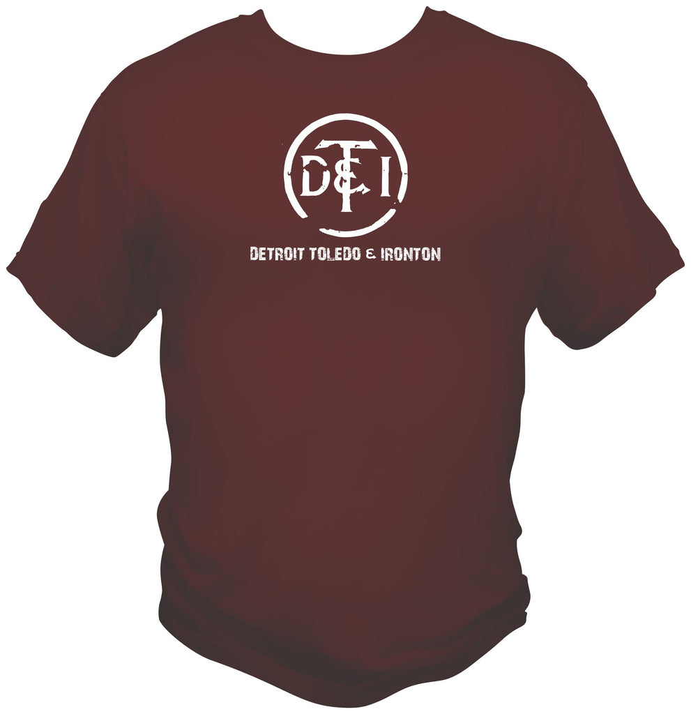 Detroit Toledo & Ironton Faded Logo Shirt