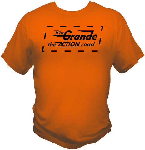 Denver & Rio Grande Action Logo Shirt
