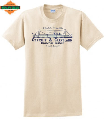 Detroit & Cleveland Navigation Co. Shirt