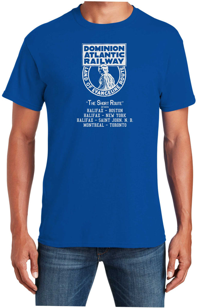 Dominion Atlantic Railway Logo Shirt