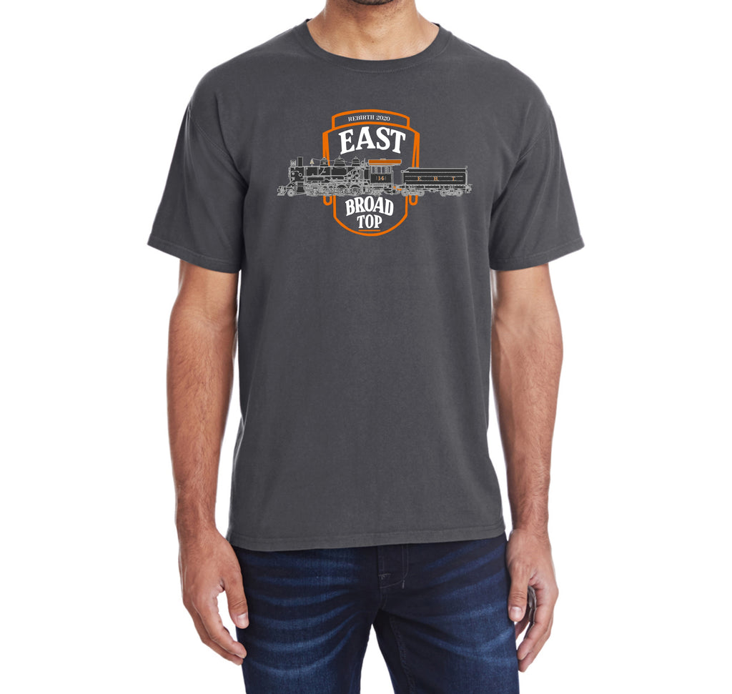 East Broad Top Locomotive #14 Faded Logo Shirt