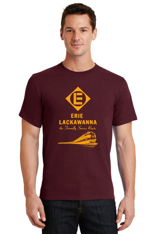 Erie Lackawanna Railroad Diamond Logo Shirt