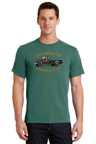 East Broad Top Railroad MOW Truck Logo Shirt