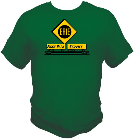 Erie RR Piggy Back Service Shirt
