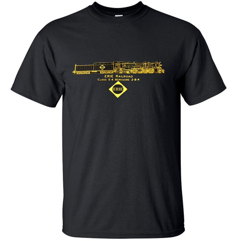 Erie RR S-4 Berkshire 2-8-4 Shirt