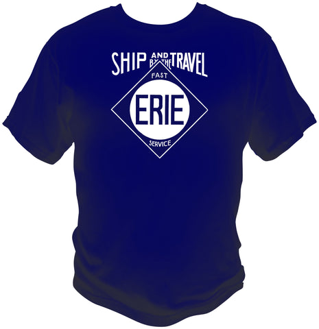 Erie RR Travel & Ship Shirt