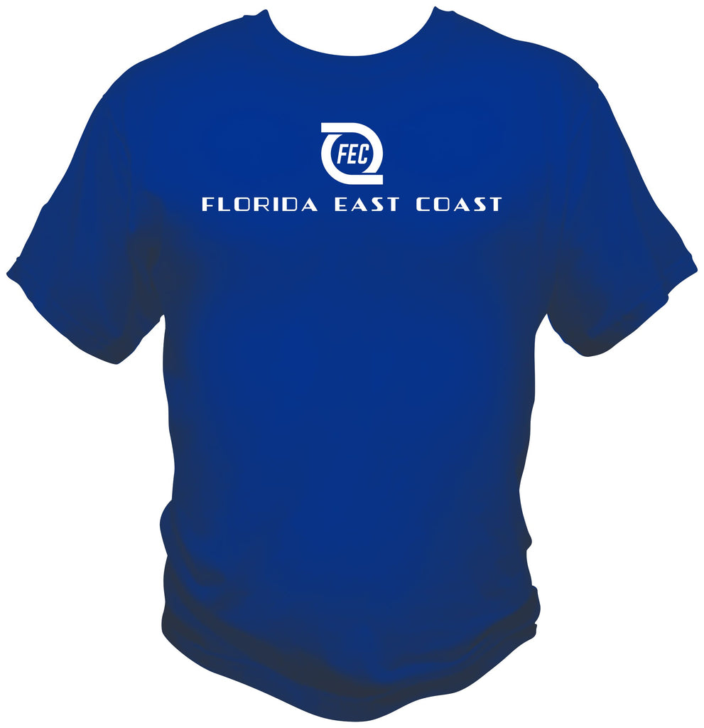 Florida East Coast Railway Hurricane Logo Shirt
