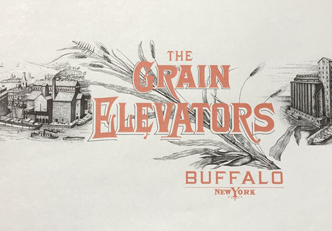 The Grain Elevators (Buffalo, New York) Book