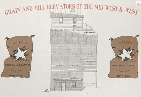 Grain & Mill Elevators of the Mid West & West Book