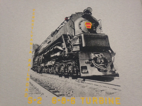 Pennsylvania Railroad (PRR) S2 Steam Turbine Shirt