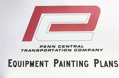 Penn Central Equipment Painting Plans Book