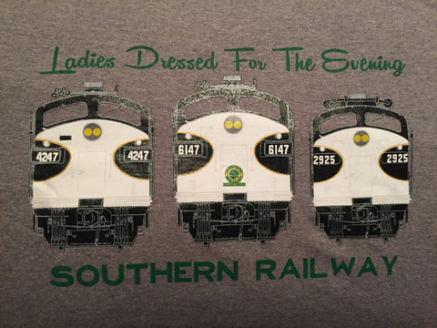 "Southern Railway (SOU) ""Ladies Dressed For the Evening"" Shirt"