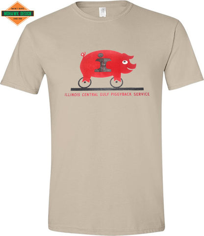 Illinois Central Gulf Piggyback Service Shirt
