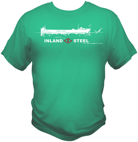 Inland Steel Ore Boat Shirt