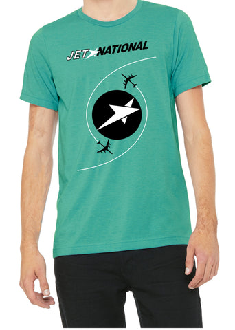 National Airlines Retro JET Logo  Shirt
