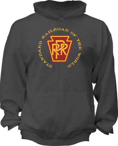 "Pennsylvania Railroad (PRR)  ""The Standard of the World"" Hoodie"