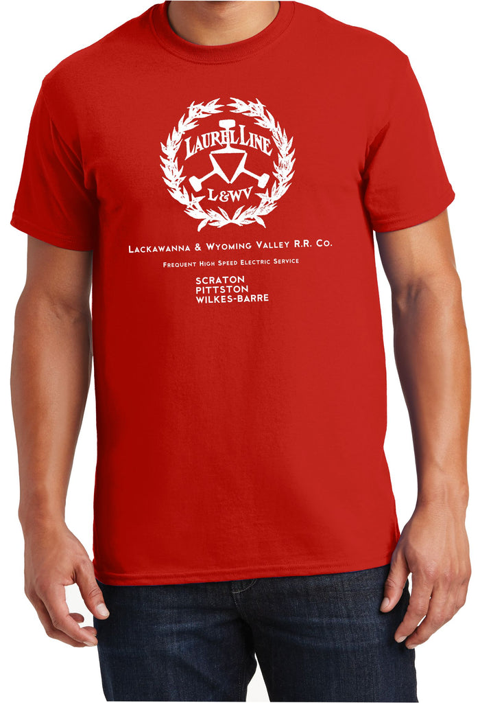 "Lackawanna & Wyoming Valley Railroad ""The Laurel Line"" Logo Shirt"