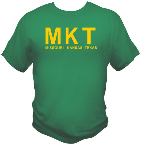 MKT Large Letter (Missouri–Kansas–Texas Railroad) Shirt