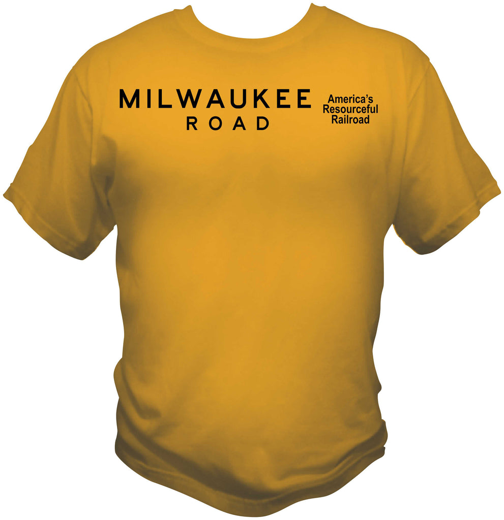 "Milwaukee Road ""America's Resourceful Railroad"" Shirt"