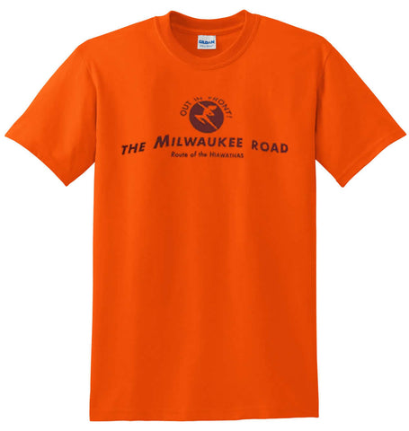 Milwaukee Road - Out in Front - Route Map Shirt