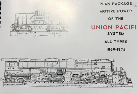 Motive Power of the Union Pacific System Book