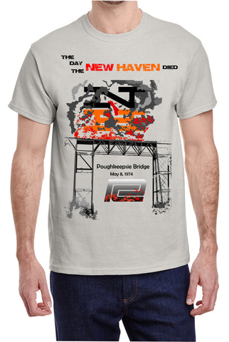 "New Haven ""Poughkeepsie Bridge"" Fire Logo Shirt"