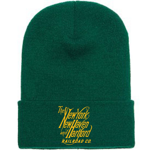 New Haven Script Logo Embroidered Toboggan