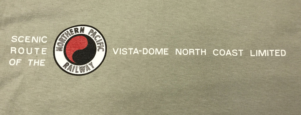 Northern Pacific Railway - Vista-Dome North Coast Limited Shirt