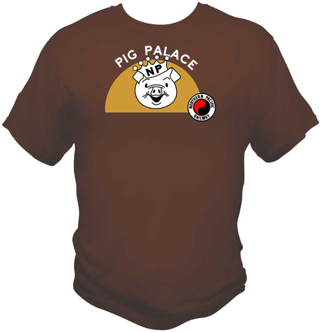"Northern Pacific ""Pig Palace"" Car Logo Shirt"