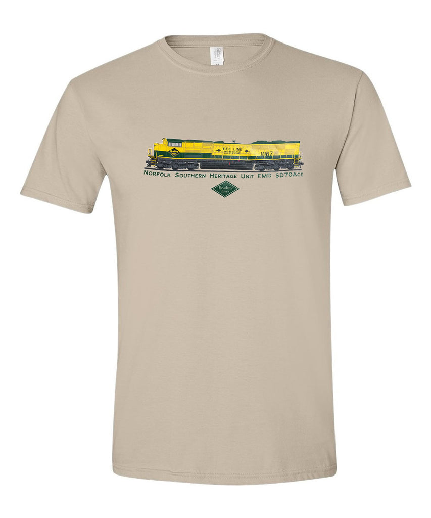 NS (Norfolk Southern) Heritage Unit EMD SD70ACE Shirt