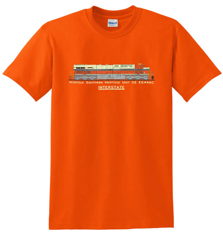 NS (Norfolk Southern) Heritage Unit GE ES44AC Shirt