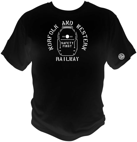 "Norfolk & Western (N&W) Safety First ""J"" Logo Shirt"
