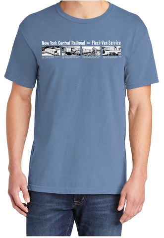 New York Central Flexi-Van Service Shirt