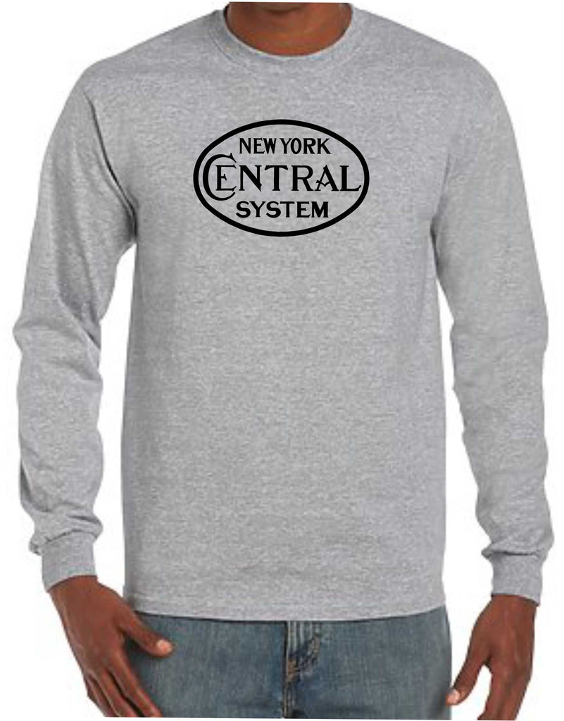 New York Central Freight Logo Long Sleeve Shirt