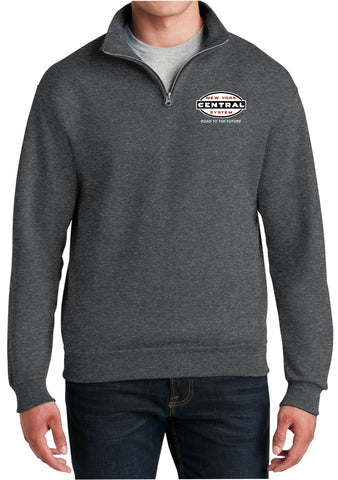 "New York Central ""Road to the Future"" Logo  Embroidered Cadet Collar Sweatshirt"