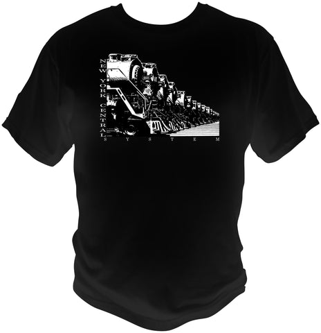 New York Central Locomotives For Service Shirt