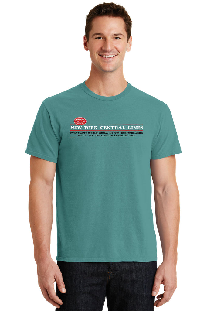 New York Central Lines Faded Glory Shirt