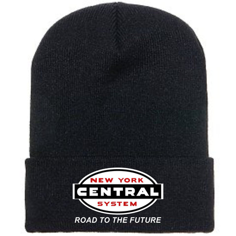"New York Central ""Road to the Future"" Logo Embroidered Toboggan"