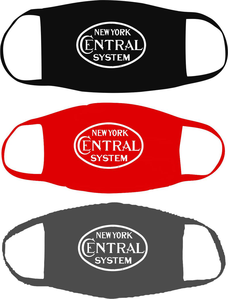 New York Central Oval Logo Mask
