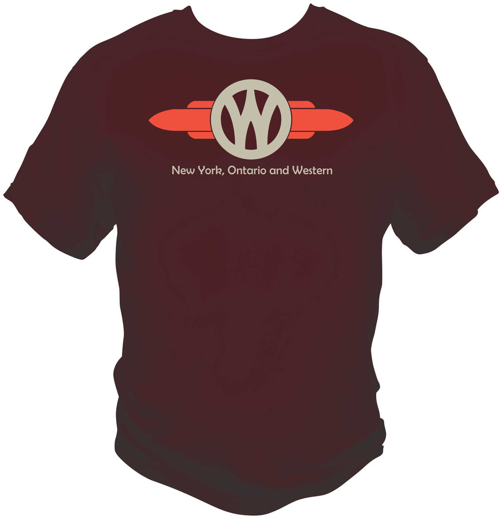 New York Ontario & Western Logo Shirt