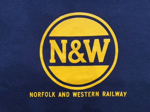 Norfolk Western N W Railway Hamburger Logo Shirt Mohawk Design