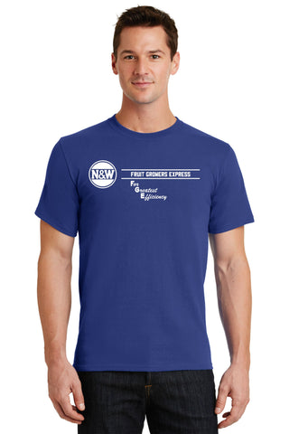 N&W Railroad Fruit Growers Express Logo Shirt