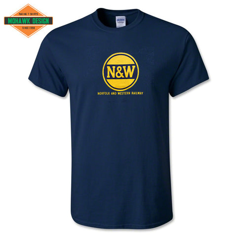 "Norfolk & Western (N&W) Railway ""Hamburger Logo"" Shirt"
