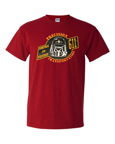 Norfolk & Western (N&W) Precision Transportation (611) Shirt