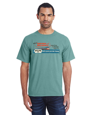 North Shore Line Faded Glory Shirt