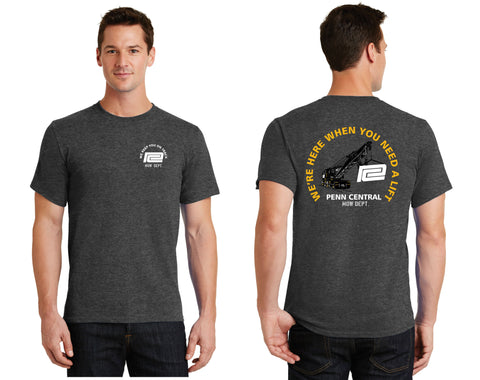 Penn Central  MOW Crane Shirt